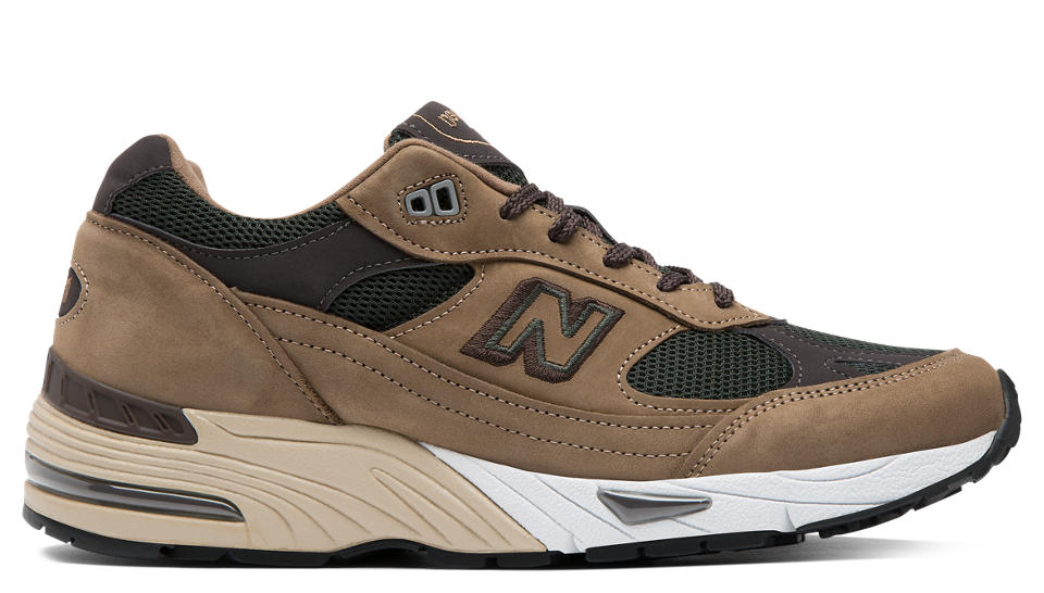 NB 991 Made in UK, Mushroom with Green