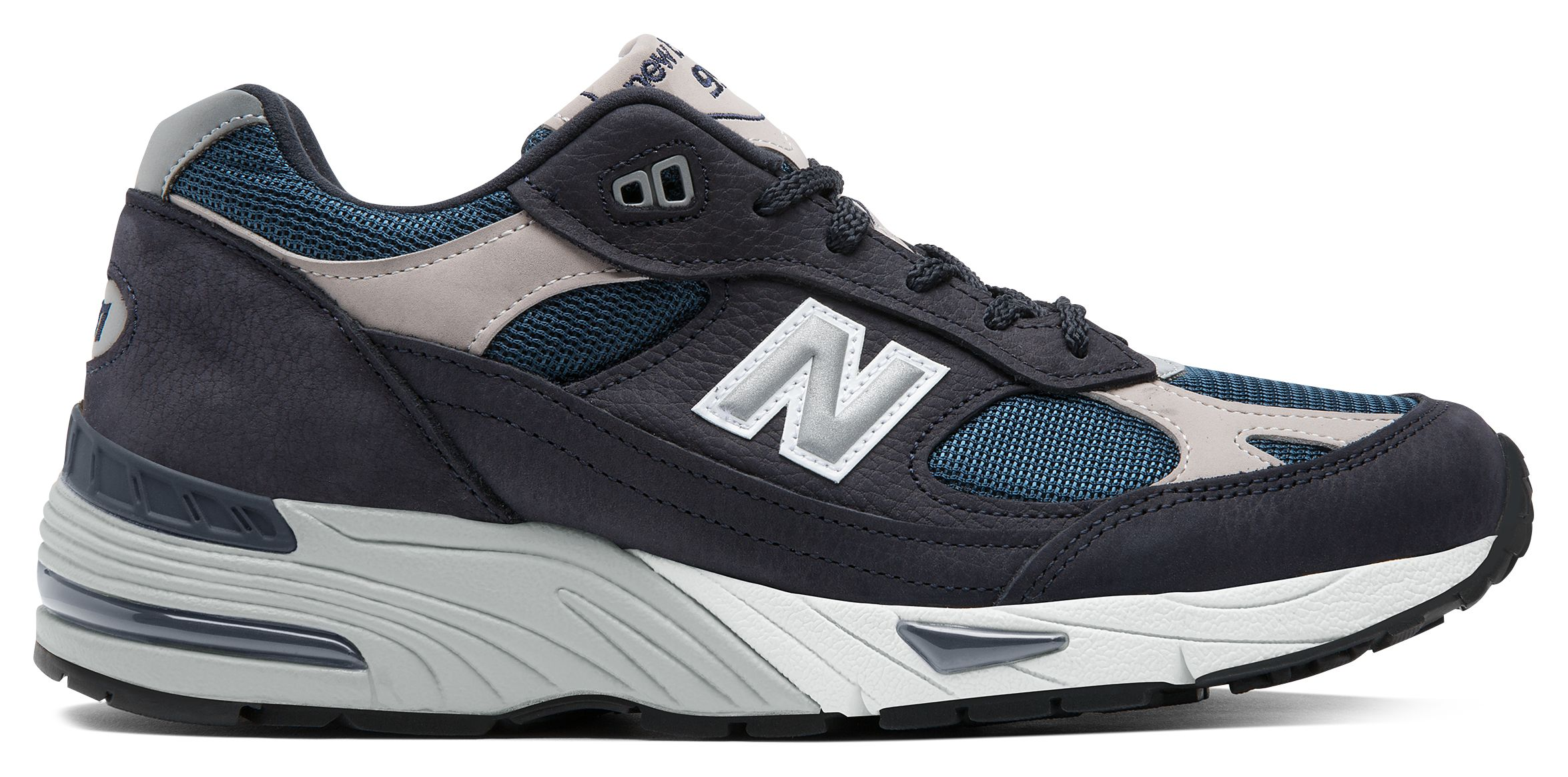 NB 991 Made in UK, Navy with Grey
