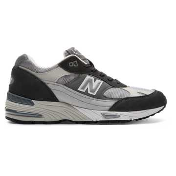 New Balance 991 Made in UK, Black with Grey & Arctic Fox