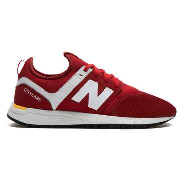 New Balance 247 LFC, Burgundy with Yellow