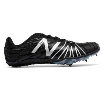 New Balance SD100 Spike, Black with Silver