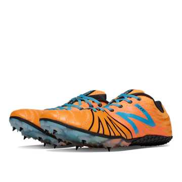 New Balance SD100 Spike, Orange with Atlantic Blue