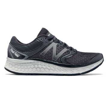 New Balance Fresh Foam 1080v7, Black with White