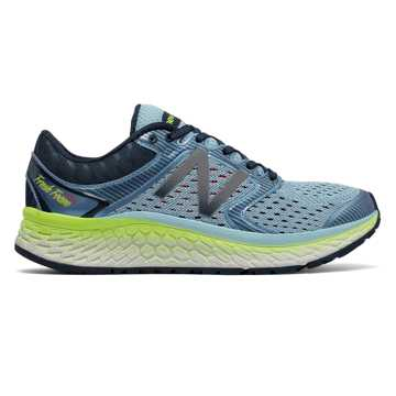 New Balance Fresh Foam 1080v7, Ozone Blue Glo with Lime Glo