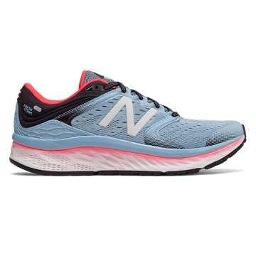 New Balance Fresh Foam 1080 女鞋 稳定舒适 缓震透气, 浅蓝色