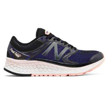 New Balance Fresh Foam 1080v7, Deep Violet with Sunrise