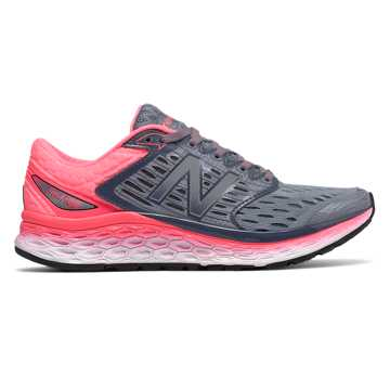New Balance Fresh Foam 1080, Silver with Pink & Pink Mist