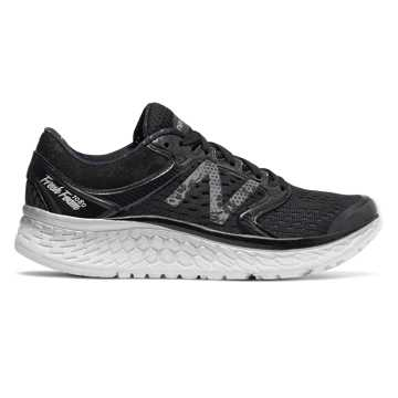 New Balance Fresh Foam 1080v7, Black with Silver & Graphite