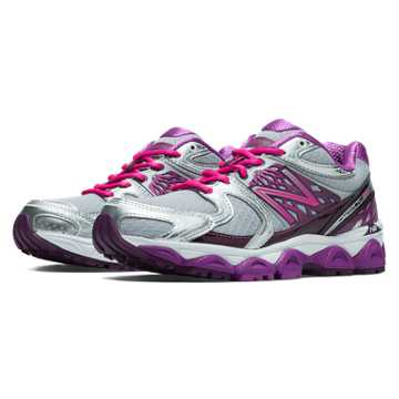 New Balance New Balance 1340v2, Silver with Pink Zing \u0026 Purple Cactus Flower