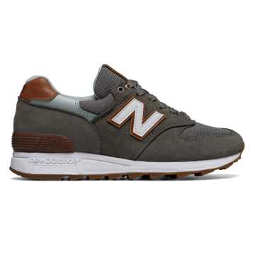 New Balance 1400 Winter Peaks, Olive with Brown