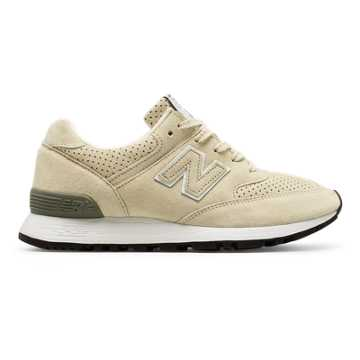 New Balance 576复古鞋 女款 避震保护 英国原产, 米黄色