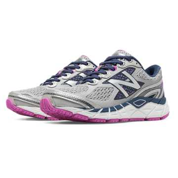New Balance New Balance 840v3, Light Grey with Blue Sapphire & Magenta