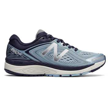 New Balance 860v8, Clear Sky with Black