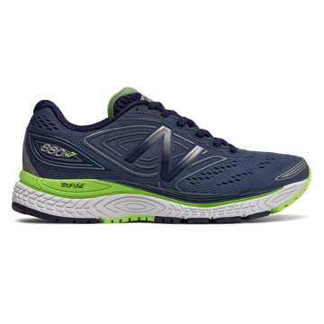 New Balance 880v7, Vintage Indigo with Pigment & Bleached Lime Glo