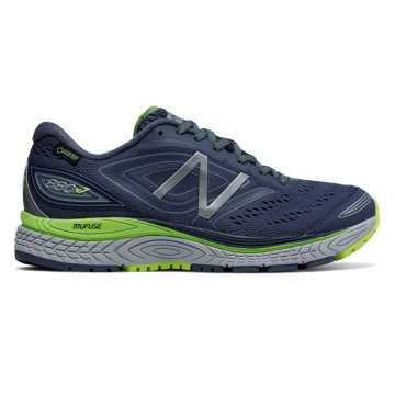 New Balance 880v7 GTX, Vintage Indigo with Cyclone & Lime Glo