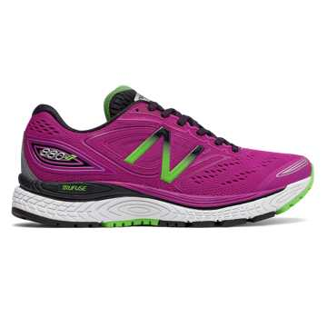 New Balance 880v7, Poisonberry with Black