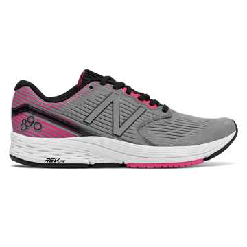 New Balance 890v6 Komen, Grey with Pink Glo