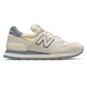 New Balance 995 Desert Heat, Angora with Steel