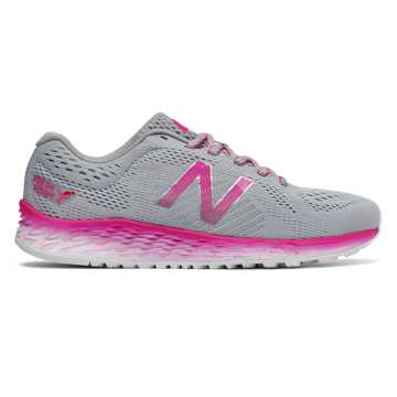 New Balance Fresh Foam Arishi Komen, Silver Mink with Pink Glo