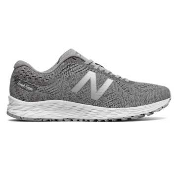 New Balance Fresh Foam Arishi Sweatshirt, Grey with White