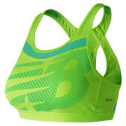NB NB Pulse Bra, Lime Glo with Vivid Jade