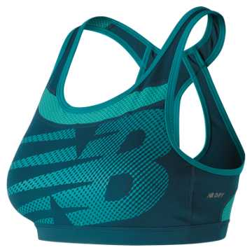 New Balance NB Pulse Bra, Moroccan Blue