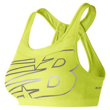 New Balance NB Pulse Bra, Solar Yellow