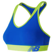 NB NB Pace Bra, Electric Blue with Lime Glo