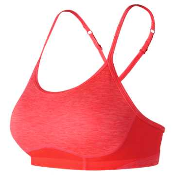 New Balance NB Hero 2.0 Bra, Vivid Coral