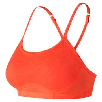 New Balance NB Hero 2.0 Bra, Vivid Tangerine Heather
