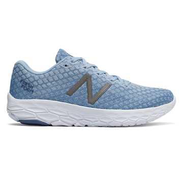 New Balance FRESH FOAM系列 女款 舒适缓震 运动休闲, 浅蓝色