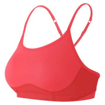 New Balance NB Hero Bra, Energy Red