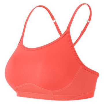 New Balance NB Hero Bra, Sunrise