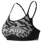 New Balance NB Hero Bra, White with Black