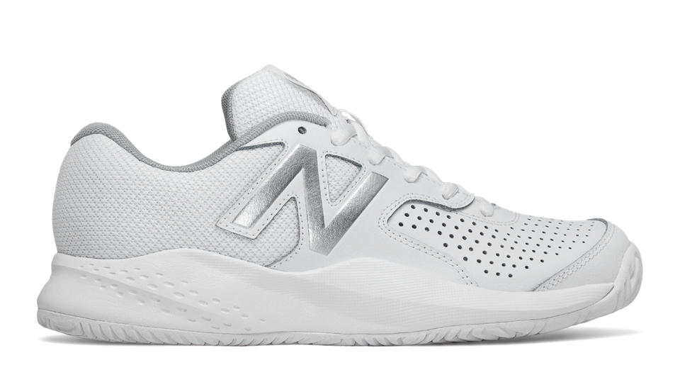 Cheap 150370 New Balance Wc696 Women White Silver Shoes
