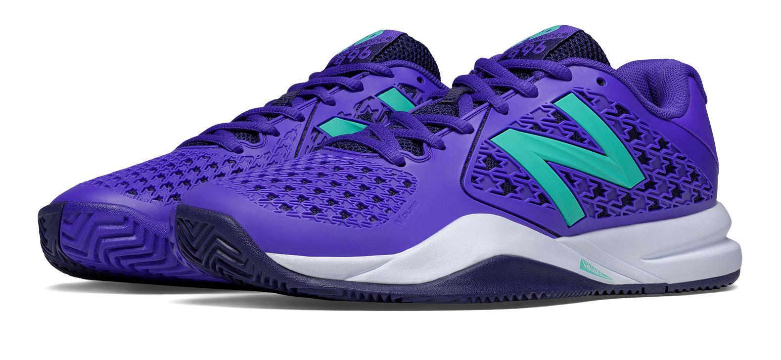 NB New Balance 996v2, Purple with Teal