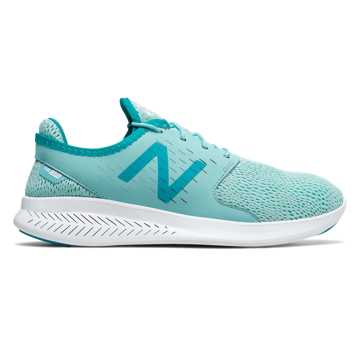 New Balance Fuelcore Coast v3 女子跑步鞋 轻质透气 百搭外观, 湖蓝色