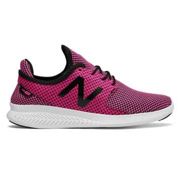 New Balance FuelCore Coast v3, Pink Glo with Black