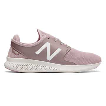 New Balance FuelCore Coast v3, Faded Rose with Champagne Metallic & Sea Salt
