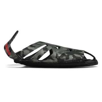 New Balance 舞蹈瑜伽鞋 女款 舒适透气 防滑耐磨, 迷彩黑