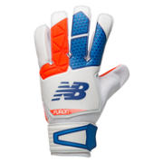 NB Furon Dispatch Glove, White with Flame & Ocean Blue