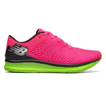 New Balance New Balance FuelCell, Alpha Pink with Lime Glo & Black