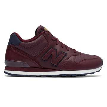 New Balance Mid-Cut 696, Chocolate Cherry with Pigment
