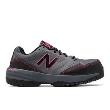 New Balance Composite Toe 589, Grey with Pink