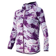 New Balance Windcheater Jacket, Imperial Print
