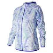 NB Spectral Tech Windcheater Jacket, Spectral with White & Aquarius