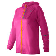 New Balance Lite Packable Jacket, Azalea Multi