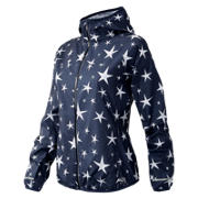 NB J.Crew Windcheater Jacket, Navy with Plaster White