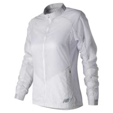 New Balance First Jacket, White