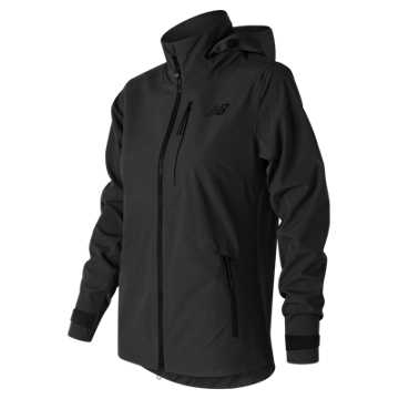 New Balance Womens 3L Jacket, Black
